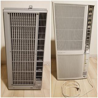 窓用エアコン 冷暖房 コロナルームエアコン※値段交渉受け付けます