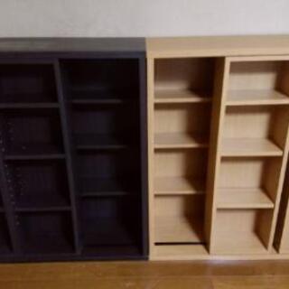 ニトリのスライド本棚