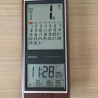 カシオ 電波時計