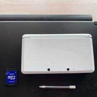 任天堂(NINTENDO) 3DS 白(ホワイト)