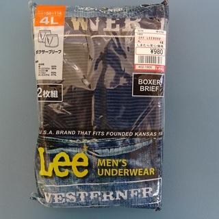 未開封 Leeボクサーパンツ 4L 差し上げます。