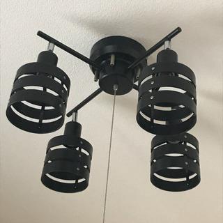 【美品】お洒落な4灯シーリングライト