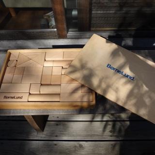 【本日限り】ボーネルンド 積み木 白木 手作り 日本製 子ども用...