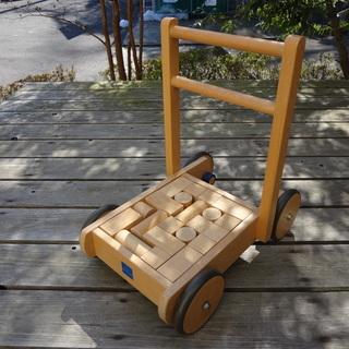 【値下!本日限り】ボーネルンド 積み木パズルのベビーウォーカー ...