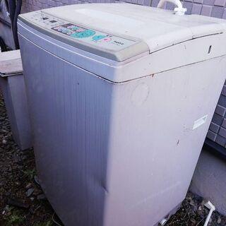 洗濯機ジャンク品です。