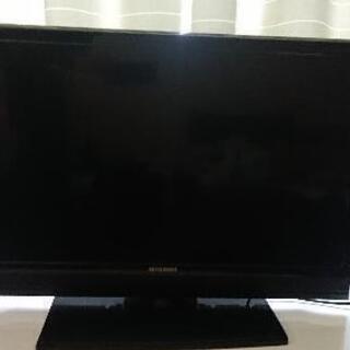 【交渉中】 三菱 REAL 32型テレビ+テレビ台