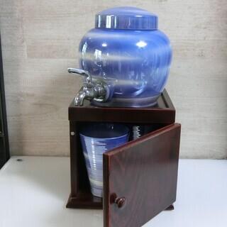 有田焼焼酎サーバー(お揃いのグラス2個付き)