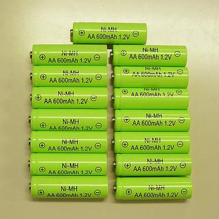 【お受取人様決定しました】充電式電池(ニッケル水素 単三電池 /...
