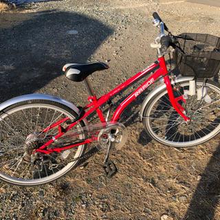 22型 子供用 自転車 五段変速