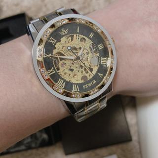 新品未使用!腕時計メンズ腕時計 機械式 クラシック 高級 防水 ...