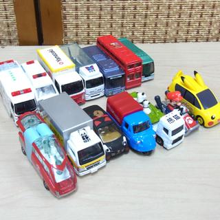 トミカ ミニカー バス ヤマザキパン他 まとめて14台セッ…