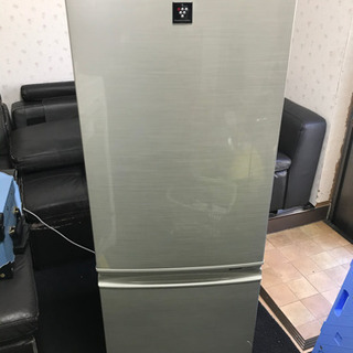 SHARP 2ドア冷凍冷蔵庫
