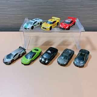 【5月末まで値下げ】トミカ ランボルギーニ&日産GTR 8台セット