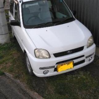新潟市より 車検付き スバル プレオ 4WD
