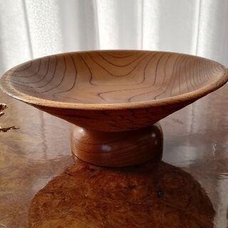 菓子器 (木製)