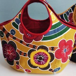 沖縄の紅型柄バッグ、ジンベエザメリュックなど