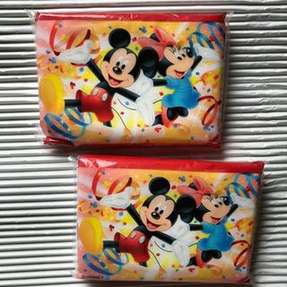 ミッキーマウス ミニーマウスのポケットティッシュ