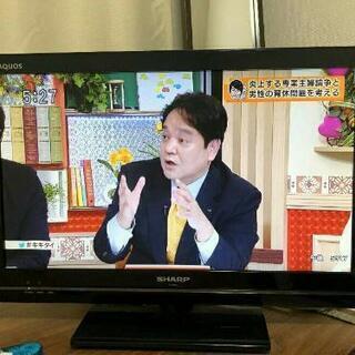 シャープ22インチLED液晶テレビ