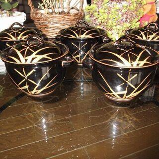 【蓋つき茶碗】茶碗蒸しや土瓶蒸しの料理に合う器5組