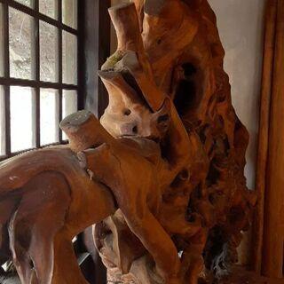 【ネット決済・配送可】木工品 重厚な一枚板 ※不定期でお値下げし...