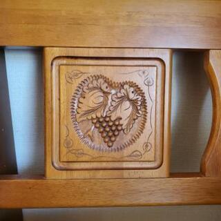 木製無垢のイス