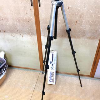 ベルボン velbon maxi343es 三脚 カメラ