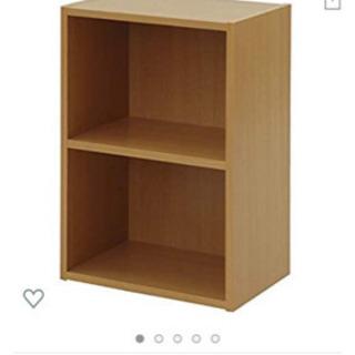 本棚 物置 カラーボックス 2段