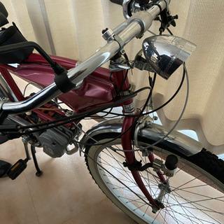 エンジン付き自転車の画像