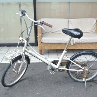 ミニチャリ 折りたたみ自転車 20インチ 変速付 MINICHA...