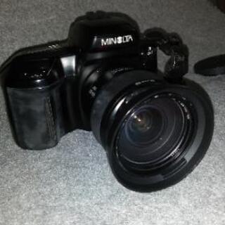 フイルムカメラ MINOLTA α5xi  − 奈良県
