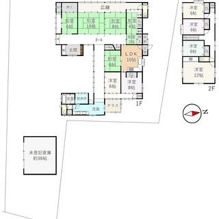 ◆南丹市八木町北屋賀焼香 ◆11LDK戸建て! ◆約36帖倉庫付き!