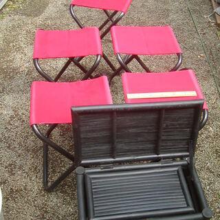 今なら椅子5脚サービス! 2ヶセット、ガーデニング、アウト…