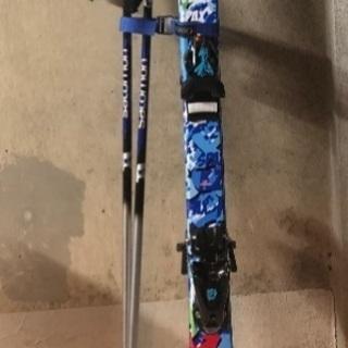 子供用スキー板110㎝ ストック75㎝ スキー靴24.0㎝