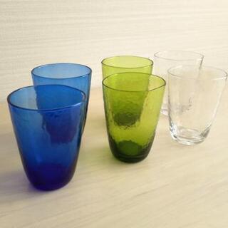 【美品】おしゃれなグラス 1つ100円♪