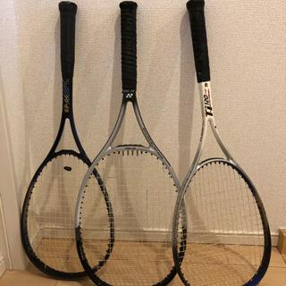 テニスラケット3本 ヨネックス