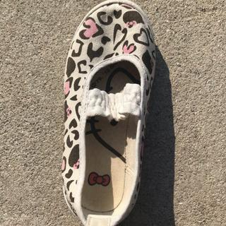 キティちゃん 幼児用靴