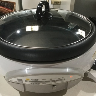電気グリル鍋    直径  35センチ