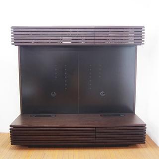 家具屋さんで購入したTV台 壁面テレビボード 全体サイズ:W18...