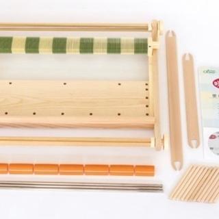 CLOVER 手織り機「咲きおり」60cm<40羽セット>