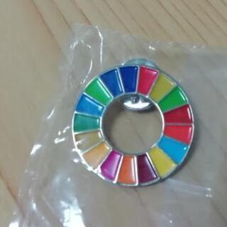 SDGs ピンバッジ 値下げしました!