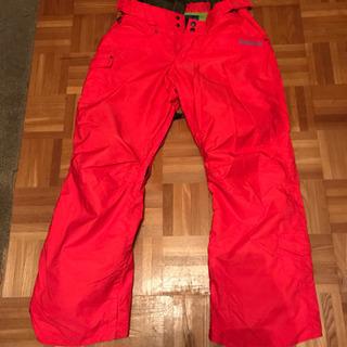 赤 Blueblood Lサイズ スノーボード スノボ ズボン パンツ