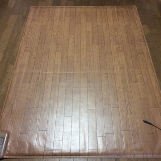フローリングの部屋で使う ホットカーペット