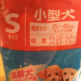 愛犬愛猫用紙おむつ Sサイズ 24枚 - 勝山市