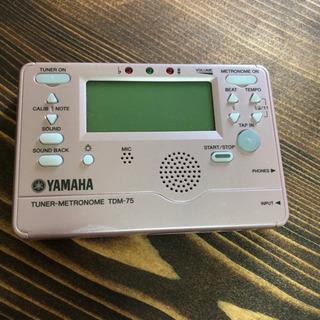 【美品】ヤマハ チューナー TDM-75 ピンク