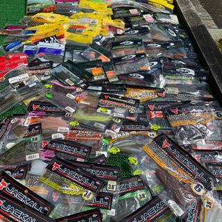 バス釣りワーム大量放出‼︎ 【3/8 福島市 フリーマーケット、...