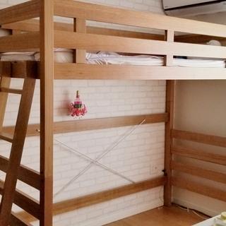 🔴木製ロフトベッド 新品同様