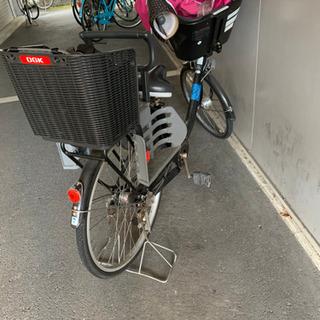 ママチャリ 自転車 子供2人 ヘルメット付き