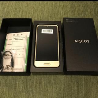 値引き中!!AQUOS R compact (新品未使用)