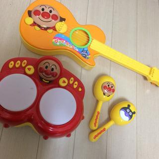 アンパンマン の楽器のおもちゃ3種類セット