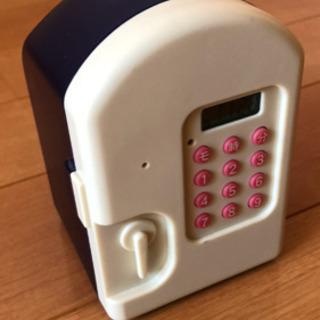 デジタルロック付き貯金箱